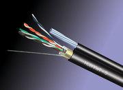 Кабель FTP для внешней прокладки с тросом