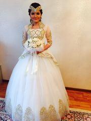 Сдам на прокат свадебное платье в казахском национальном стиле
