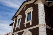 Облицовка фасадов травертином,  гранитом или мрамором.